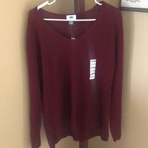 NWT! Maroon Sweater!